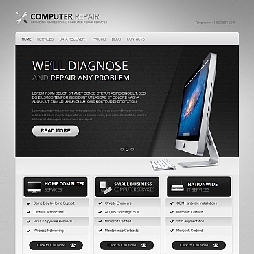Website Template № 40464