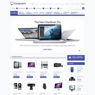 Website Template № 40546