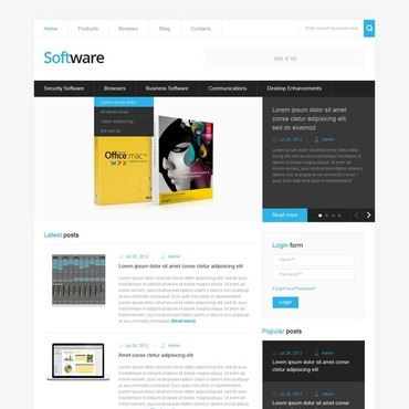 Template Software Drupal #41046