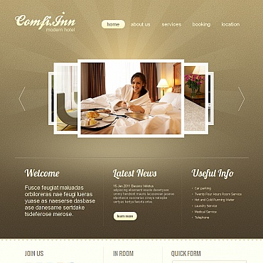 Website Template № 41455