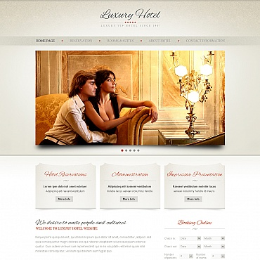 Website Template № 41617