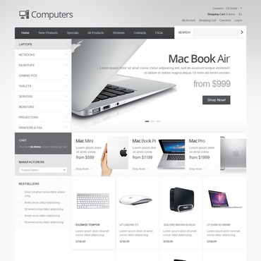 Website Template № 41624