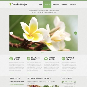 Website Template № 42125