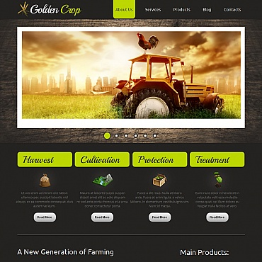 Website Template № 42697