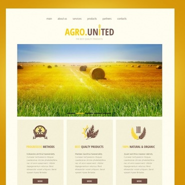 Website Template № 42835