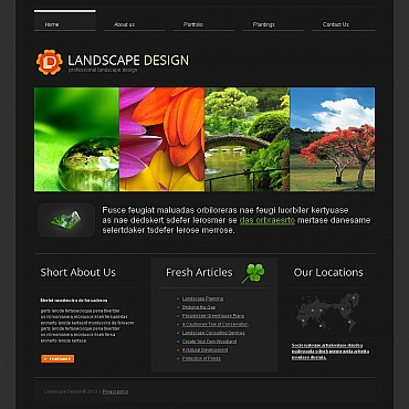 Website Template № 42947
