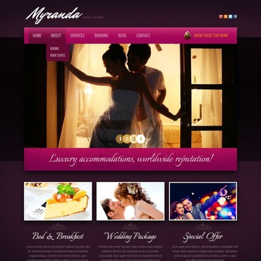 Website Template № 43085