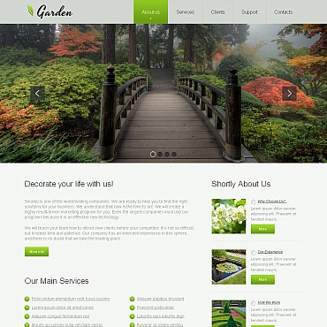 Website Template № 43238