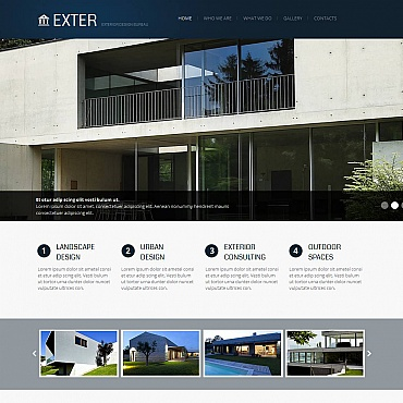 Website Template № 43660