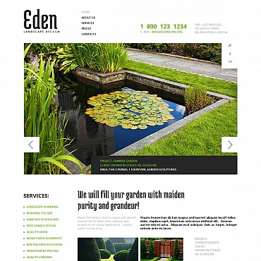 Website Template № 44074