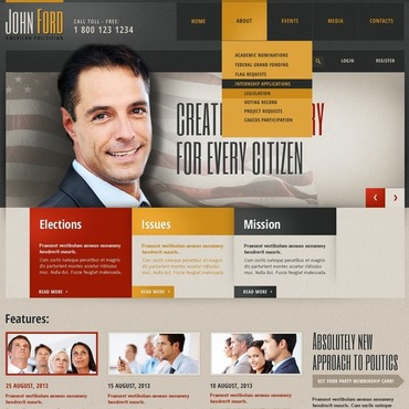 Website Template № 44574