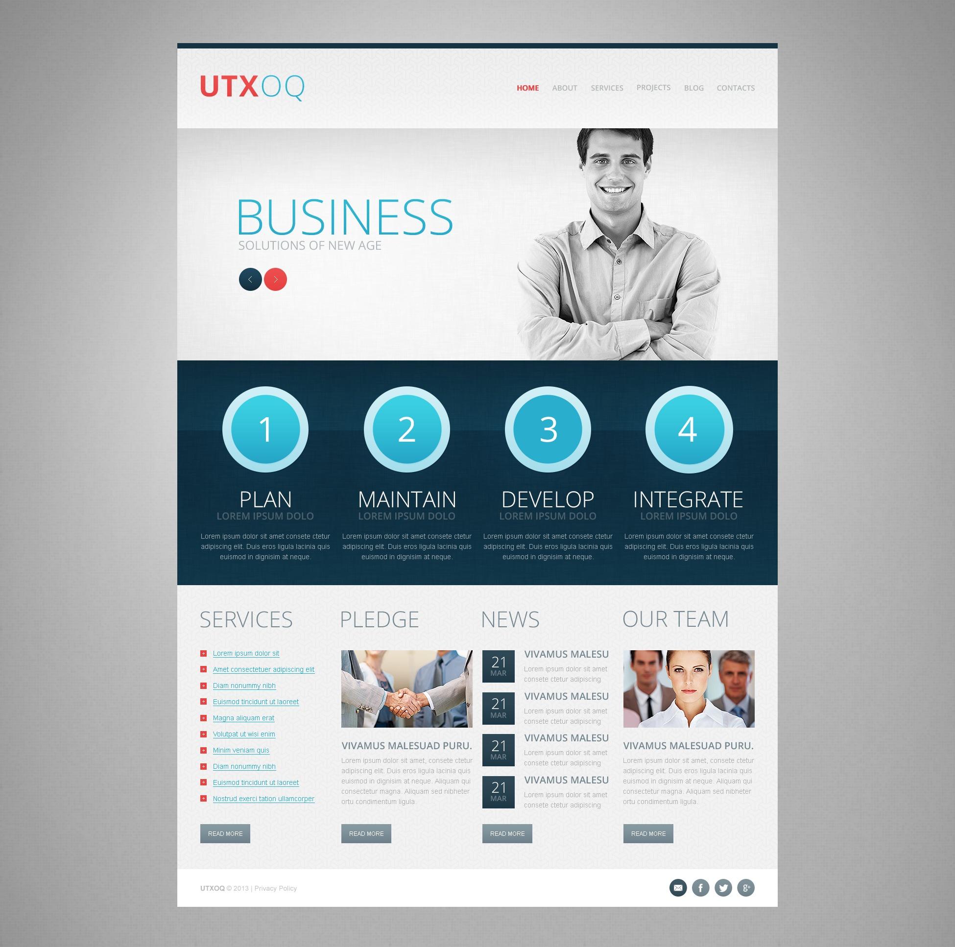Management Solutions Online Drupal Template