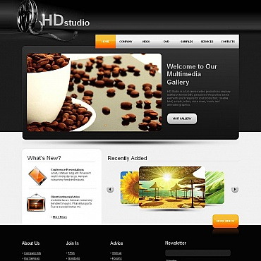 Website Template № 44854