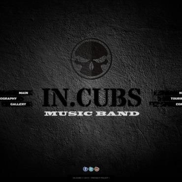 Template Muzică HTML, JS şi CSS #44966