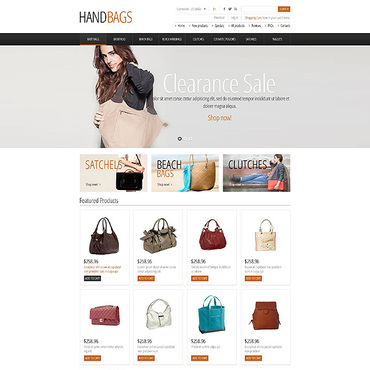 Website Template № 45226