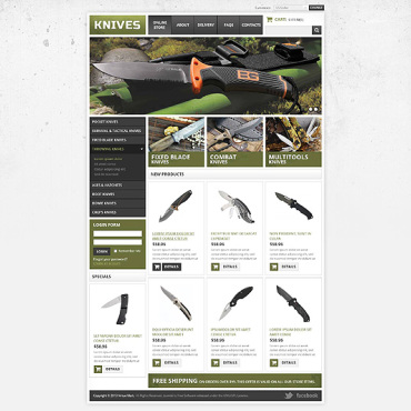 Website Template № 45228