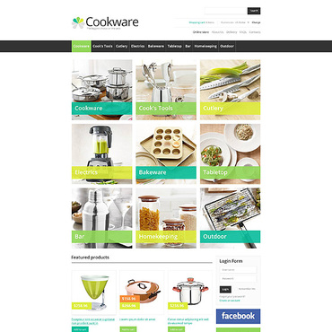 Website Template № 45229