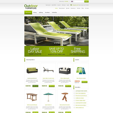 Website Template № 45245
