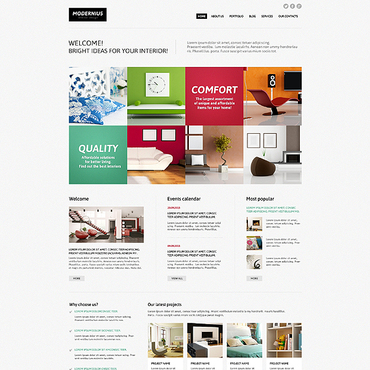 Website Template № 45288