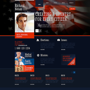Website Template № 45312