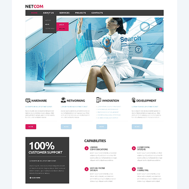 Website Template № 45407