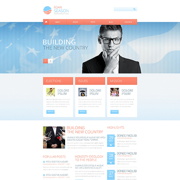Website Template № 45409