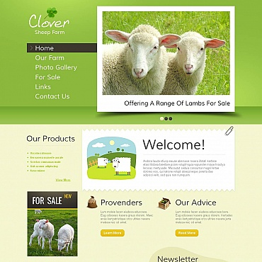 Website Template № 45445