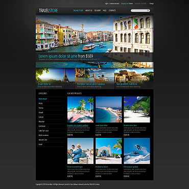 Website Template № 45478