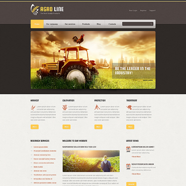 Website Template № 45520
