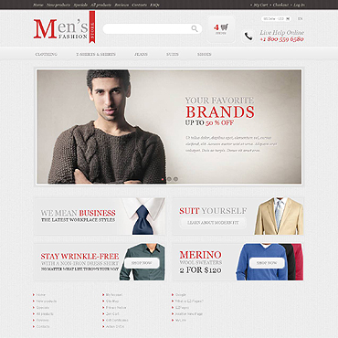 Website Template № 45555