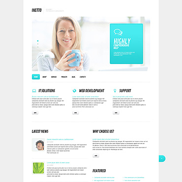 Website Template № 45577