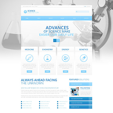 Website Template № 45593