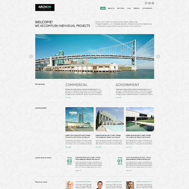 Website Template № 45601