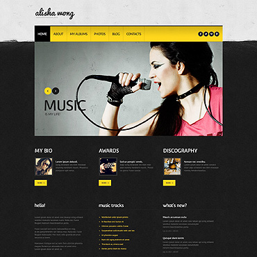 Website Template № 45880