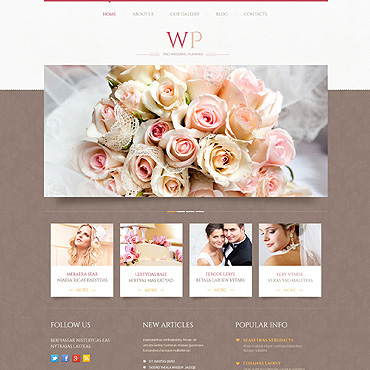 Website Template № 45883