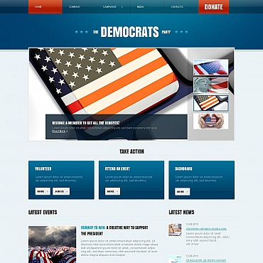 Website Template № 45902