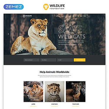 Website Template № 45961