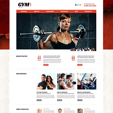 Website Template № 46093