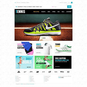 Website Template № 46175