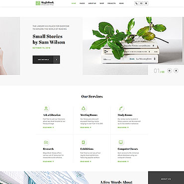 Website Template № 46251