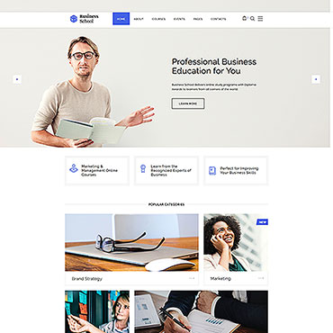 Website Template № 46509