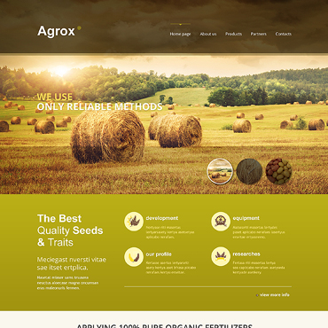 Website Template № 46511