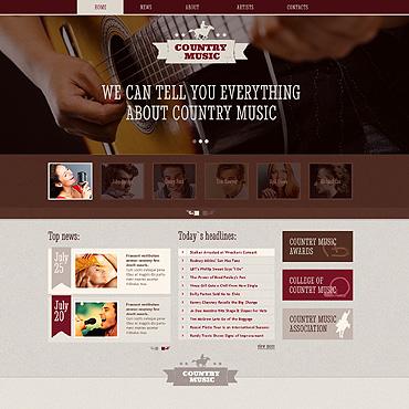 Template Muzică HTML, JS şi CSS #46515