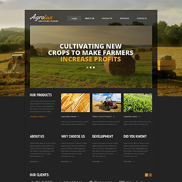 Website Template № 46550