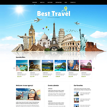 Website Template № 46634