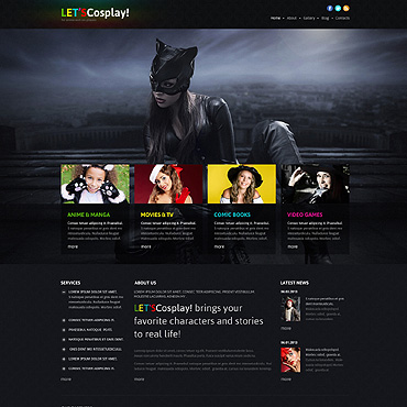 Website Template № 46642