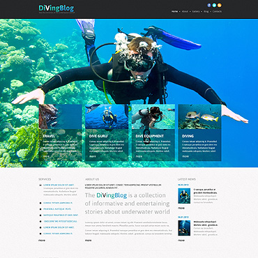 Website Template № 46643
