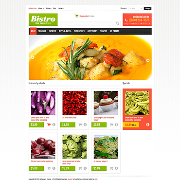 Website Template № 46647