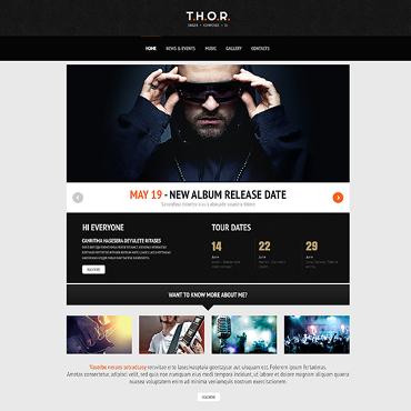 Template Muzică WordPress #46784