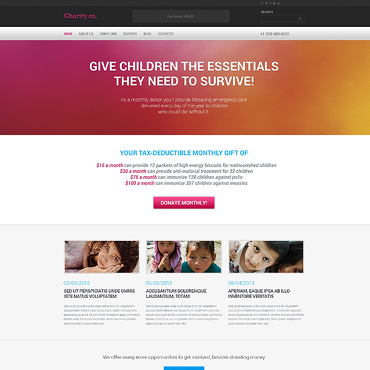 Website Template № 46791